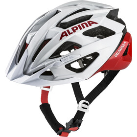 Alpina Valparola Helm white-red